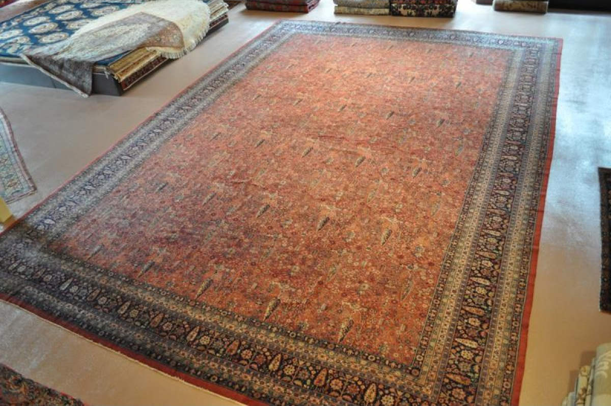 Ardabil rugs at Pamir Rugs of Monterey