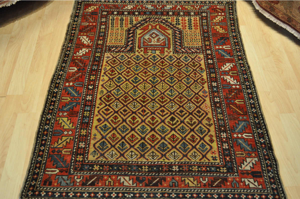 Antique Caucasian Marasali rug19th century